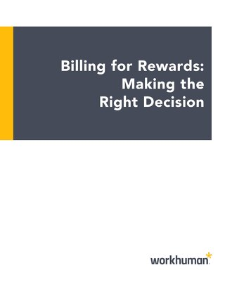 Billing for Rewards: Making the Right Decision