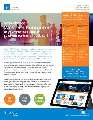 Western Computer Brochure