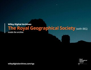 Inside the Collection: The Royal Geographical Society (with IBG)