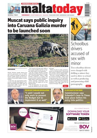 MALTATODAY 18 September 2019 Midweek