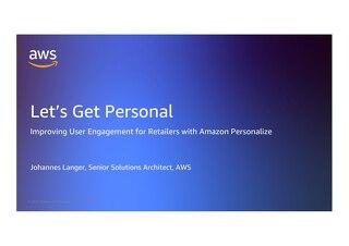 Let's Get Personal - Slides