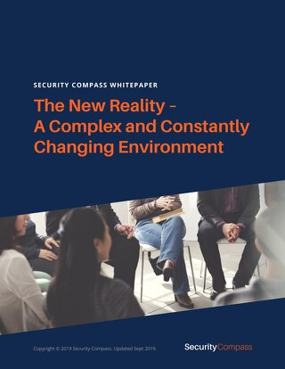 The New Reality – A Complex and Constantly Changing Environment