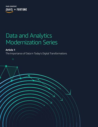 The Importance of Data in Today's Digital Transformations