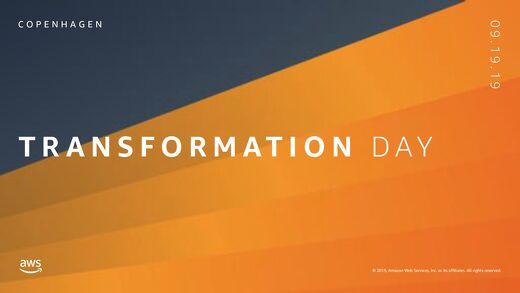 Keynote: Innovating as a High Frequency Organization_AWS Transformation Day_190919