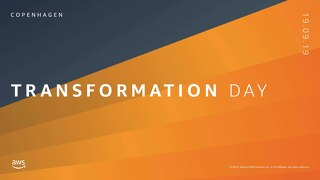 The talent you already have is the talent you need_AWS Transformation Day CPH 190919