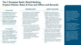 Tier-1 European Bank - Retail Banking