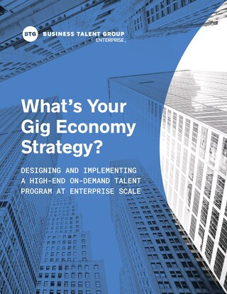 What's Your Gig Economy Strategy?