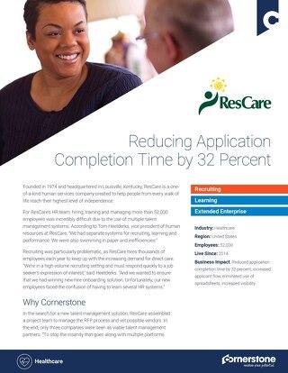 Case Study - ResCare