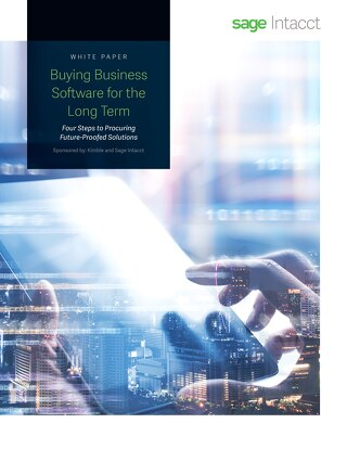 Buying Business Software for the Long Term