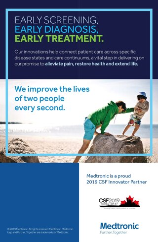 Visit Medtronic at CSF Booth # 1