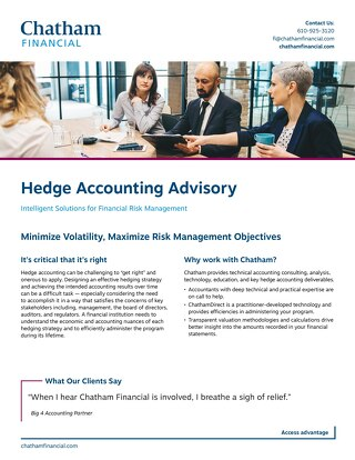 Hedge Accounting for Financial Institutions