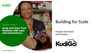 AWS Startup Day Accra - Kudigo Customer Presentation