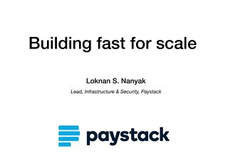 AWS Startup Day Lagos - Paystack Customer Presentation