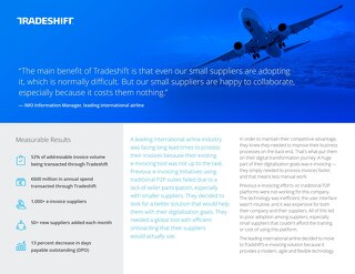 Why a leading international airline switched to Tradeshift