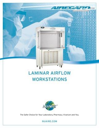 [Brochure] Laminar Airflow Workstations