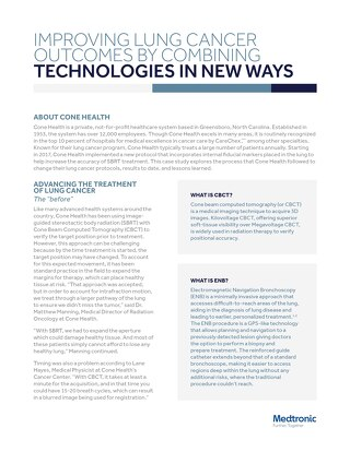 White Paper: Improving Lung Cancer Outcomes by Combining Technologies in New Ways