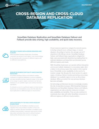 Cross-Region and Cross-Cloud Database Replication