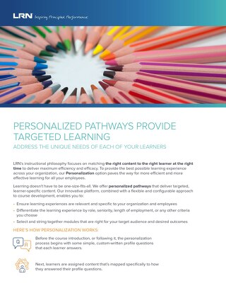 Platform Personalized Pathways Factsheet