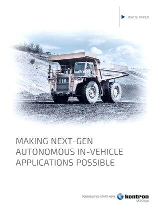 Making Next-Gen Autonomous In-Vehicle Applications Possible