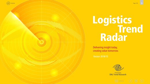 DHL Trend radar report 2019
