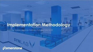 Implementation Methodology for SYNLAB from our meeting in September 2019