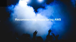 Oslo Sep2019 - Tidal - Recommending music using on AWS