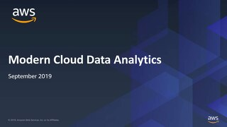 Nordics Sep 2019 - Modern Cloud Data Analytics