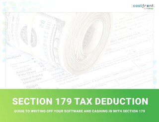 Section 179 - Software Tax Write Off