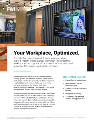 Top Digital Signage Solutions for the Modern Workplace