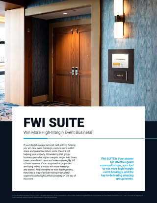 See What's Included in FWI SUITE