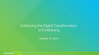 NYC Digital Transformation Slide Deck