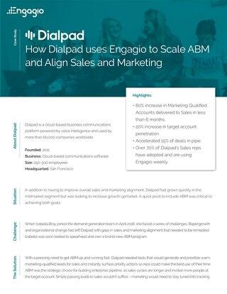 Engagio Case Study  |  Dialpad