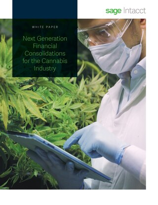 Next Generation Financial Consolidations for the Cannabis Industry