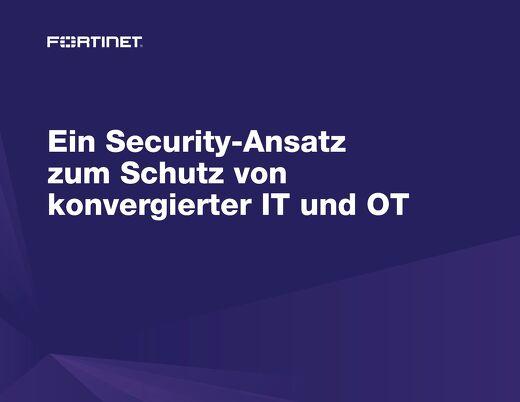 Ein Security-Ansatz zum Schutz von Konvergierter IT und OT