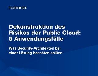 Dekonstruktion des Risikos der Public Cloud: 5 Anwendungsfälle