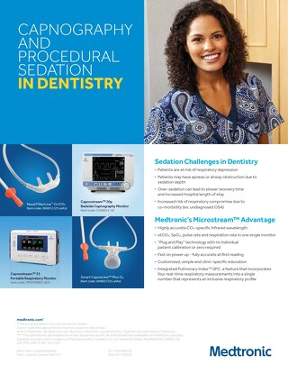 CAPNOGRAPHY AND PROCEDURAL SEDATION IN DENTISTRY