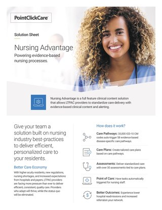 Nursing Advantage Solution Sheet