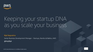 Startup Day: Maintaining your Startup DNA