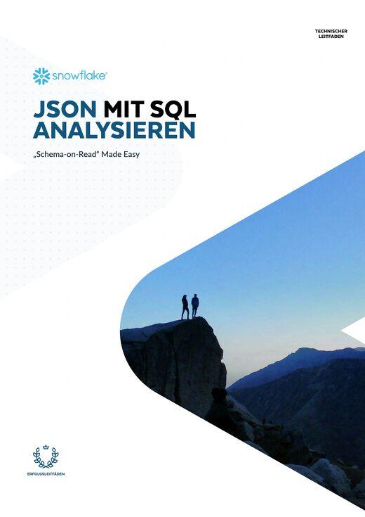 JSON Mit SQL Analysieren
