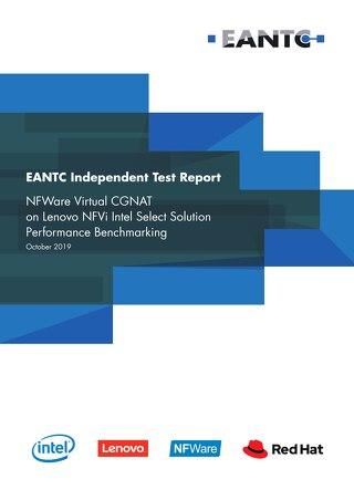 NFWare Virtual CGNAT on Lenovo NFVi Intel Select Solution Performance Benchmarking