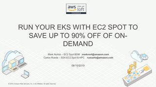 Containers Day - EKS Spot instances workshop