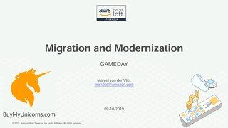 Migration and Modernization GameDay