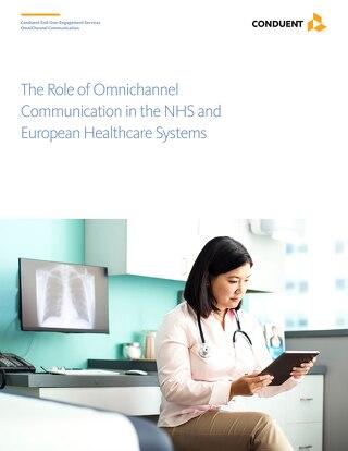 全方位渠道通信在NHS和欧洲医疗保健系统中的作用