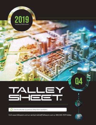 Q4 Talley Sheet 2019