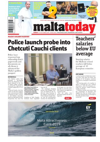 MALTATODAY 13 October 2019