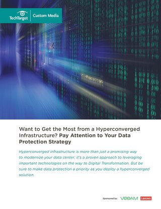 Hyperconverged Data Management with Lenovo and Veeam
