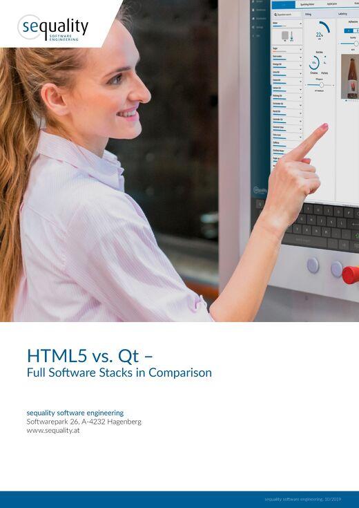 White paper: Qt vs. HTML5 The Full-Stack Comparison