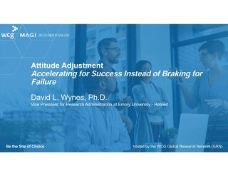 Attitude Adjustment - Accelerating for Success Instead of Braking for Failure