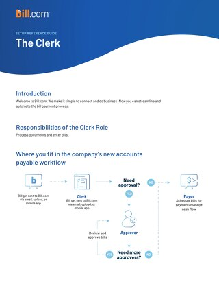 Overview and Training for Clerk Role