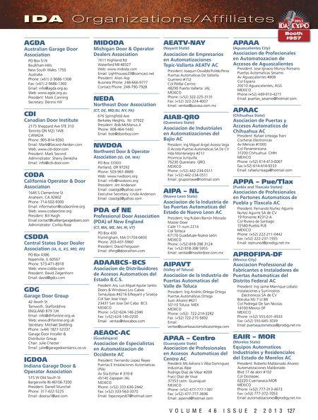 International Door Operator Industry Mar Apr 2013